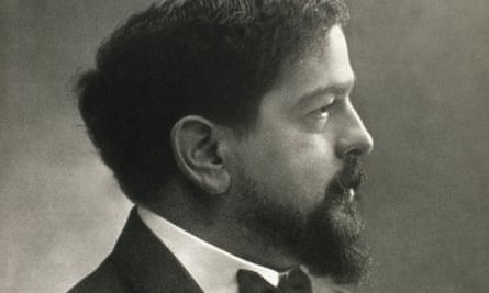 Compelling profile … Claude Debussy.