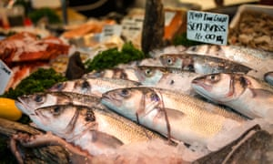 Fishmonger, Borough Market