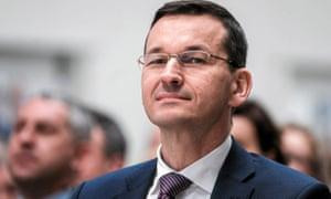 Mateusz Morawiecki, Poland's finance minister