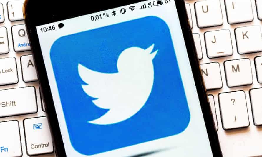 The Twitter logo