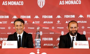 Monaco unveiled their new head coach Niko Kovac and sporting director Paul Mitchell earlier this week.