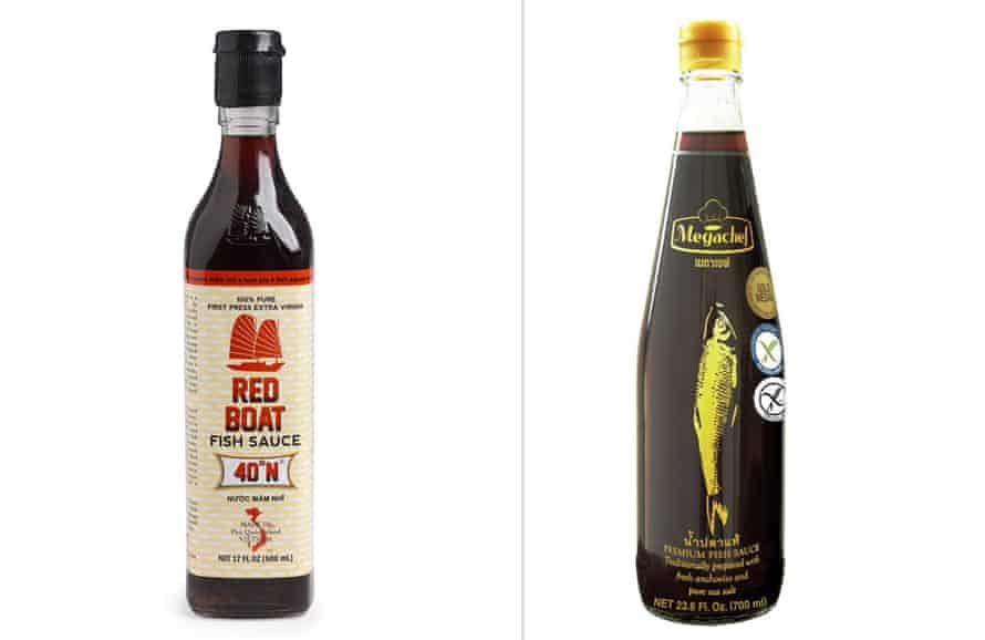 Red Boat and Megachef fish sauces