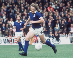 b384e40b98b Kevin Beattie playing for Ipswich Town against Sheffield United