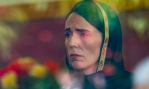 Kirk Hargreaves' picture of Jacinda Ardern. 'A blend of different religions as well as her incredible body language.'