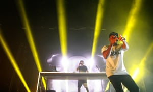 Dizzee Rascal at the O2 Academy in Newcastle