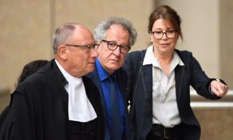 Geoffrey Rush tells defamation trial newspaper made him look like a 'criminal'