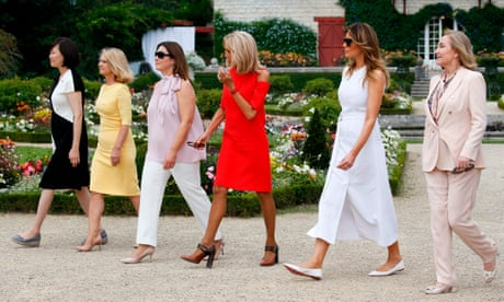 The G7 was the final straw – world leaders' wives should refuse to travel with their spouses