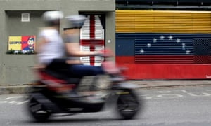 The house of Venezuelan opposition leader Leopoldo Lopez in Caracas.
