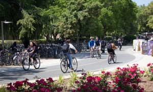 In the 1970s, the city's business leaders dubbed Davis the bicycle capital of America.