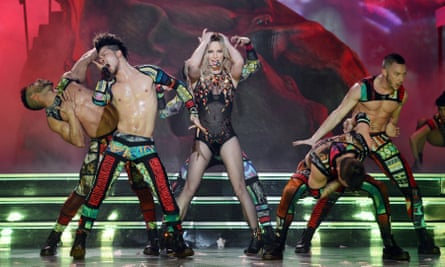 Britney Spears in Vegas: abs-olutely lucrative.