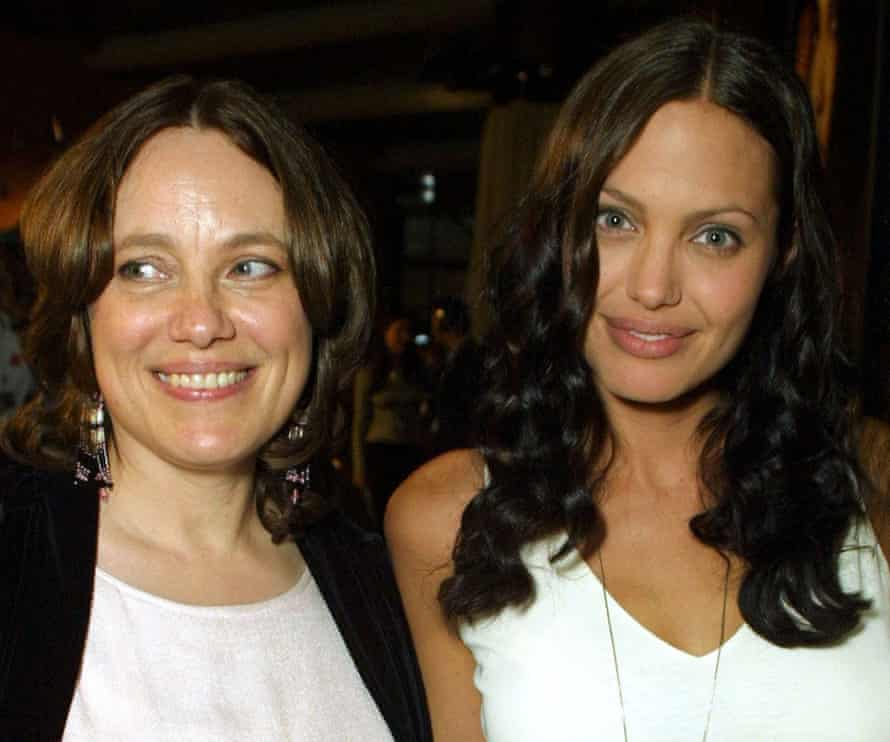 Angelina Jolie and mother Marcheline Bertrand 'ORIGINAL SIN' FILM PREMIERE AFTER PARTY, LOS ANGELES, AMERICA - 31 JUL 2001