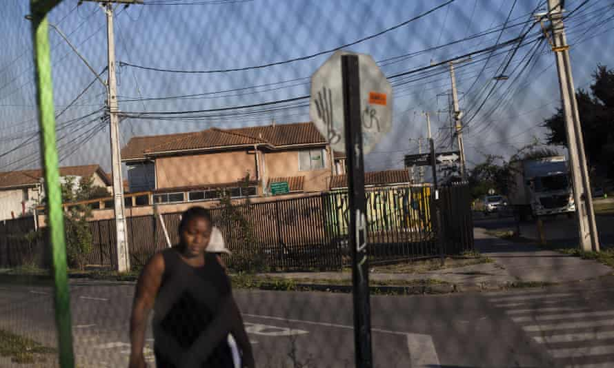 The Puerto Principe area of the Quilicura district in Santiago. More than 50,000 Haitians and 15,000 Dominicans are part of an economic story quickly moving up the political agenda.