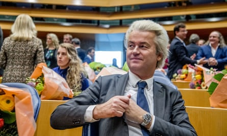 Geert Wilders at the Hague