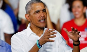 'You rarely have a former president that is more popular than the now-sort-of-nominee,' Democratic pollster Cornell Belcher said. 'Barack Obama is the most popular political figure in America right now.'