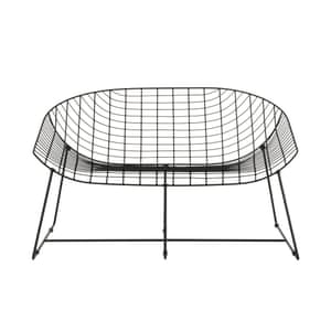 Metal Leopold bench Habitat