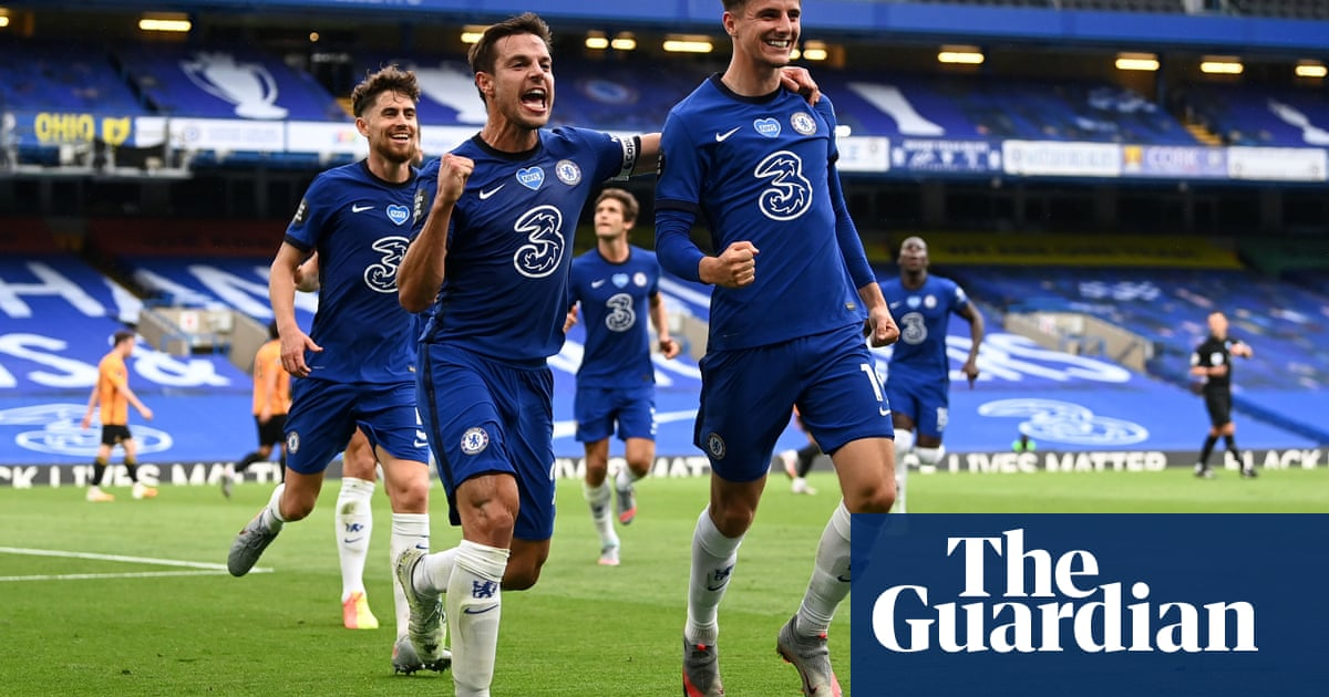 Mason Mount and Olivier Giroud sink Wolves and seal fourth place for Chelsea