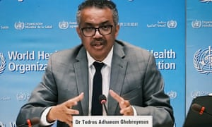 World Health Organization (WHO) Director-General Tedros Adhanom Ghebreyesus announced a committee will review the health body's emergency alert system.