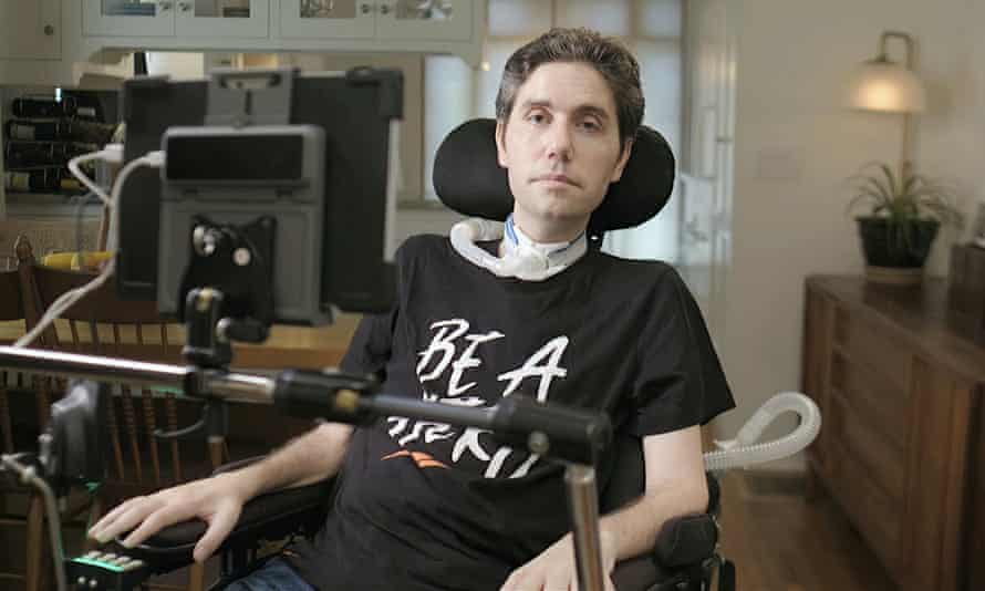 Ady Barkan: 'I have lost my ability to speak, but not my agency or my thoughts.'