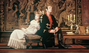Jean-Paul Belmondo and Sabine Haudepin in a production of Kean at the Theatre de Marigny in Paris in 1987