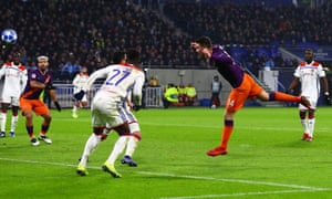 City are level, courtesy of Aymeric Laporte's bonce.