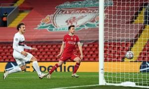 Jota scores for Liverpool