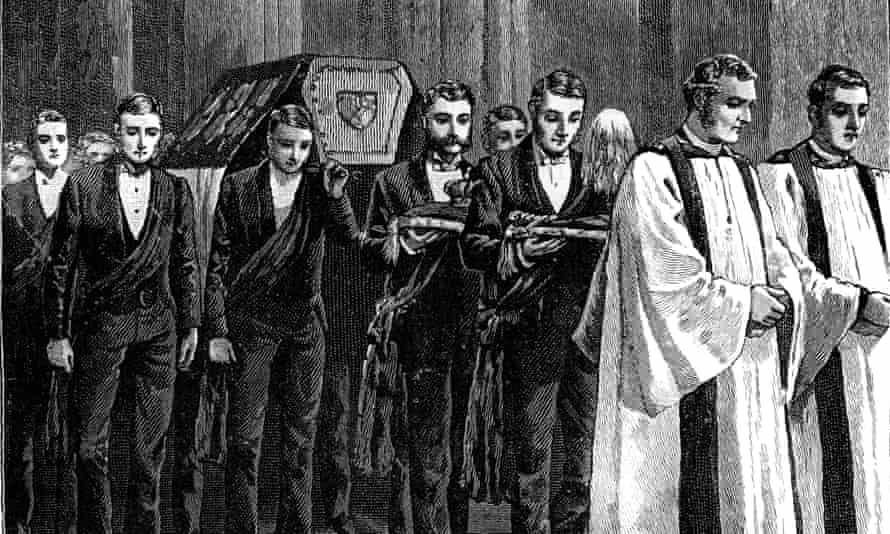 Prince Albert's funeral, 1861.