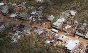Houses damaged and destroyed by Hurricane Matthew line a mountain road in south-western Haiti but a lack of clean water could be the storm's more deadly legacy.