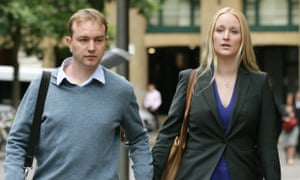 Former City trader Tom Hayes and his wife Sarah Tigh