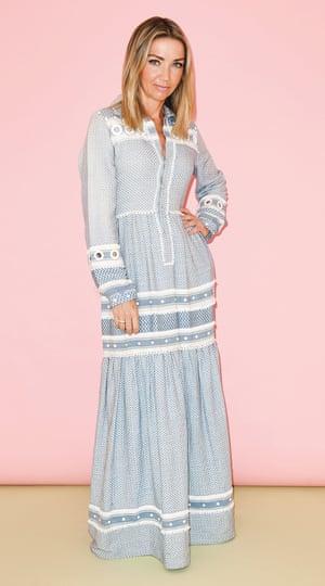 Jess Cartner-Morley in loose-fitting dress