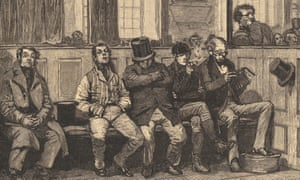 Chartists in church, 1839. To demonstrate their power and numbers, they would process to church well before time for theD98985 Chartists in church, 1839. To demonstrate their power and numbers, they would process to church well before time for the
