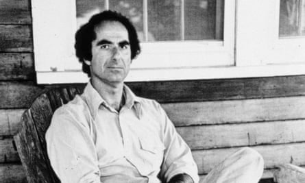 Philip Roth, pictured in 1977