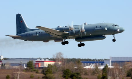 Moscow blames Israel after Syria shoots down Russian military plane