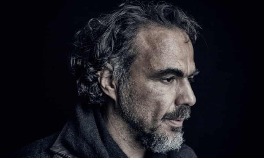 Alejandro González Iñárritu photographed at the Covent Garden Hotel in London.