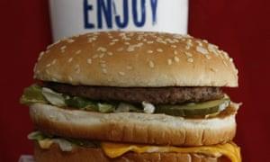 A McDonald's Big Mac.
