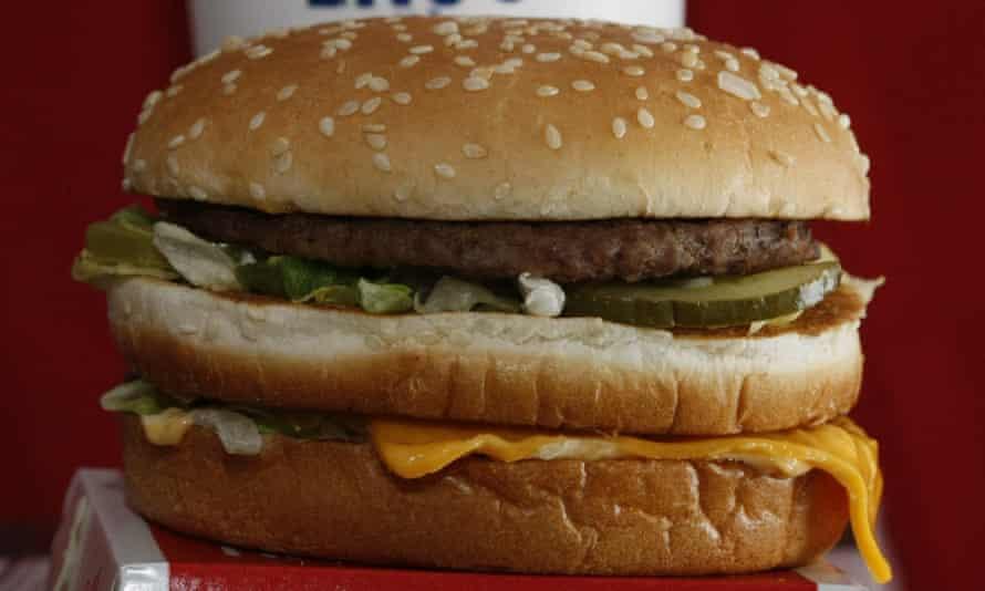 A Big Mac sandwich