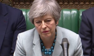 Theresa May in the Commons, 25 March