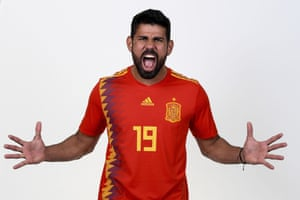 Diego Costa looks fired up for Spain's World Cup campaign - but their preparations have been thrown into turmoil with the news that Julen Lopetegui will take the Real Madrid job after the tournament.