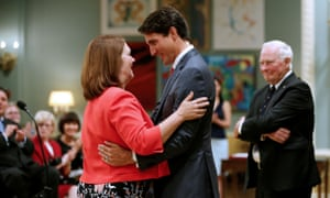 Philpott and Trudeau in August 2017. Philpott said she and former justice minister Jody Wilson-Raybould had more to say but did not elaborate further.