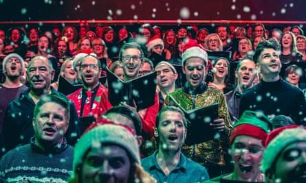 'Lifetime friendships, jobs, housemates … it's pretty much a lifestyle' – London City Voices choir.