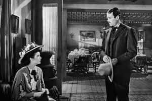Cathy Downs and Henry Fonda in My Darling Clementine.