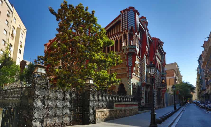 Gaudi´s Casa Vicens building, Barcelona.