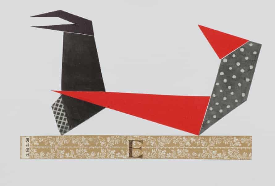 Le Theatre des Formes, 2011 by Geta Brătescu.