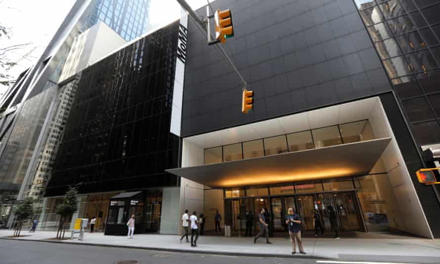 The Museum of Modern Art (MoMA) in Manhattan.