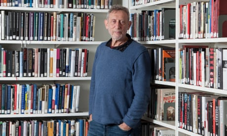 Michael Rosen takes first steps as he recovers from Covid-19