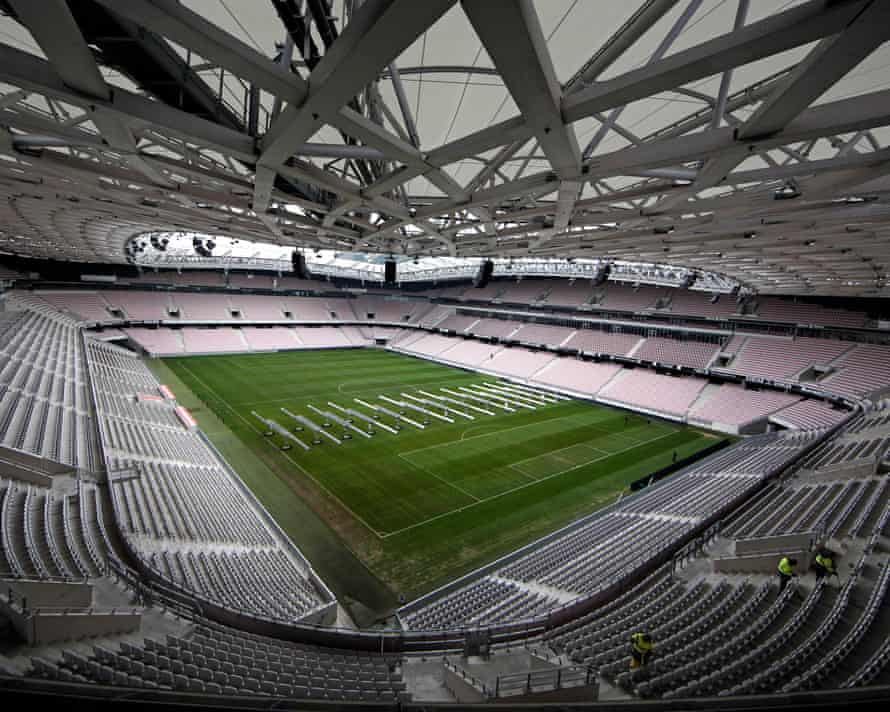 The Stade de Nice.