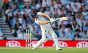 Jos Buttler's half-century at the Oval helped England to 271-8 at stumps on day one.