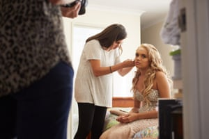 Aleisha Rule gets ready for her formal
