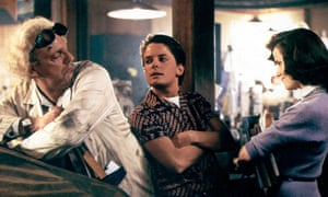 Time travel classic … Back to the Future.
