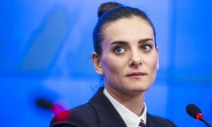 Yelena Isinbayeva says she will file a discrimination suit