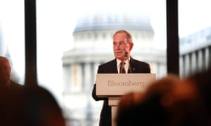Democratic presidential hopeful Michael Bloomberg owns Bloomberg News.